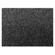 E.V.A. Glitter 40 x 60 cm, Pacote Com 05 Folhas, Make+ - Preto - 9741