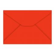 Envelope Carta Vermelho 80g, Caixa C/ 100 Unidades, Foroni