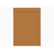 Envelope Saco Kraft Natural 34, 240 x 340 mm, 80 gr, Caixa Com 250 Unidades, Foroni