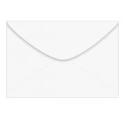Envelope Visita 70 Branco, 72mm x 108mm, 63gr, Caixa C/ 1000 Unidades, Foroni