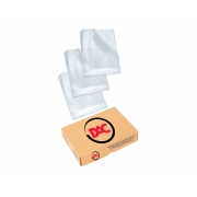 Envelopes Plásticos Grossos, Ofício Com 4 Furos, Pacote C/ 400 Unidades, Dac