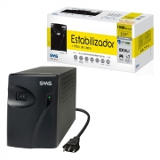 Estabilizador SMS Progressive III 1000VA, Entrada Bivolt Automático, Saída 115V, 5 Tomadas - 16216