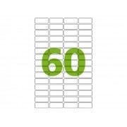 Etiqueta Inkjet e Laser Carta CC189, 16,93 x 44,45 x 4 mm, 100 Folhas, Colacril - AECTE4101