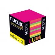 Filicube Lumi Colorido, 85 g, 86 mm X 86 mm X 80 mm, Contém 700 Folhas, Filipaper - 03828