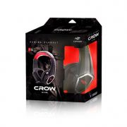 Fone C/ microfone Gamer C3tech Crow Ph-g100bk