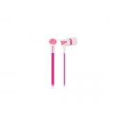Fone C/microfone Oex Colorhit Branco/rosa FN203
