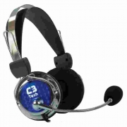 Fone com Microfone C3Tech Pterodax MI-2322RC
