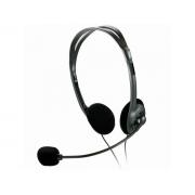 Fone com Microfone Multilaser Basico Preto P2 PH002