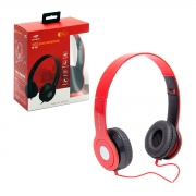 Fone de Ouvido C3Tech PH-100RD, C/Microfone, Dobrável, Vermelho