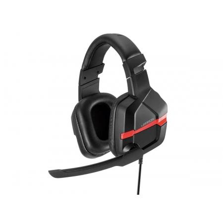 Fone de Ouvido Headset Gamer Multilaser Askari P2 PC Vermelho Warrior - PH293