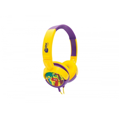 Fone de Ouvido Infantil OEX Dino HP300