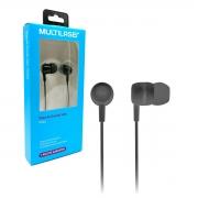 Fone de Ouvido Multilaser Vibe PH322, Earbuds de Silicone, Preto