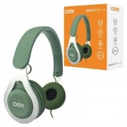 Fone de Ouvido OEX Drop HS210, P2 de 3.5mm, Verde - C/ Microfone
