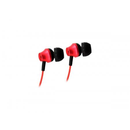 Fone de Ouvido OEX FN403, C/Microfone, P2 3.5mm, Metal Vermelho