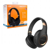 Fone de Ouvido OEX Golden HS316, Bluetooth 5.0, P2/P2, Preto e Dourado - Redutor de Ruidos