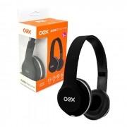 Fone de Ouvido OEX Style HP103, P2 de 3.5mm, Preto Dobrável - Função Hands Free