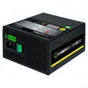 Fonte de Alimentação ATX Gamemax 600W GM600 80 Plus