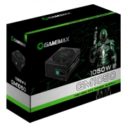 Fonte Gamer ATX Gamemax GM1050 1050W Semi-Modular 80 Plus Silver PFC Ativo Preta