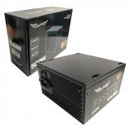 Fonte Gamer ATX Tronos TRS/500PFCA 500W Real, PFC Ativo, Cooler 120mm, Bivolt Automático