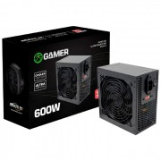 Fonte Gamer Brazil PC BPC/6350-B 600W Real 24 Pinos