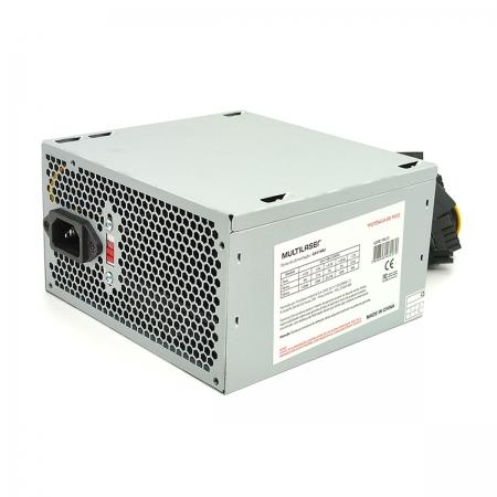 Fonte Multilaser PSU-GA114BU 200W Real, Bivolt Manual (Chaveada) - OEM