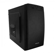 Gabinete C3Tech C3Plus MT-11BK Micro-ATX Fonte 200W Inclusa