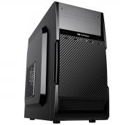Gabinete C3Tech C3Plus MT-25V2BK Micro-ATX Fonte 200W Inclusa