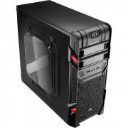 Gabinete Gamer Aerocool GT Window EN58683 ATX, Com Fan, Lateral em Acrilico Preto