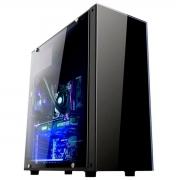 Gabinete Gamer Brazil PC BPC-330ATX Preto Lateral Acrílico sem Fonte