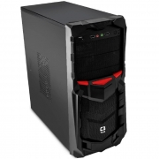 Gabinete Gamer C3tech MT-G50BK, Sem Fonte, Preto