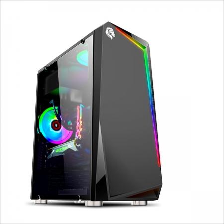 Gabinete Gamer Hayom GB1712, RGB, USB 3.0