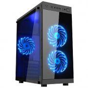 Gabinete Gamer K-mex Anjo Noite 01f6 c/ Vidro