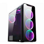 Gabinete Gamer K-mex Cg-01g8 Infinity 1 Lat Full Acrilico