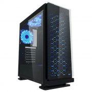 Gabinete Gamer K-MEX Galaxy CG-7EV3 3 Fans LEDs Azuis - CG7EV3RI001CB0X