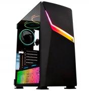 Gabinete Gamer K-MEX Strife CG-01Y3 LED RGB Sincronizado - CG01Y3RH0010B0X
