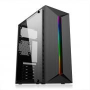 Gabinete Gamer Pixxo GE3202, RGB, ATX