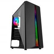 Gabinete Gamer Pixxo GF5523, RGB, ATX