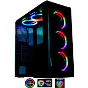 Gabinete Gamer Rise Mode Glass 04 RGB RM-CA-04-RGB