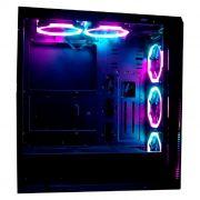 Gabinete Gamer Rise Mode Glass 04 RGB RM-CA-04-RGB