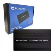 "Gaveta para HD/SSD 2.5"" Bluecase BCSU302, USB 3.0, Preto"