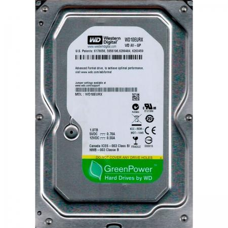 HD 1TB Western Digital WD10EURX AV-GP Green Power SATA III 6 Gb/s IntelliPower