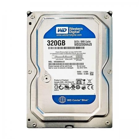 Hd 320GB Western Digital WD3200AAJS Sata II 7200RPM 8MB Cache - Reman.