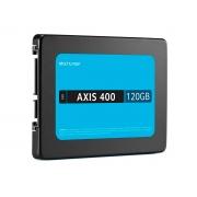 "HD SSD 120GB Multilaser Axis400 SS101, Leitura 400MB/s, Gravação 400MB/s, Sata III, 2.5"""