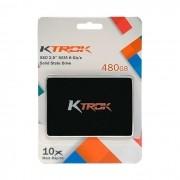 "HD SSD 480GB KTROK SD250-480GQN, Leitura 480MB/s, Gravação 430 MB/s, 7mm, Sata III 2,5"""