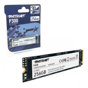 HD SSD M.2 2280, 256GB Patriot P300, NVMe 1.3, Leitura 1700MB/s, Gravação 1100MB/s - P300P256GM28