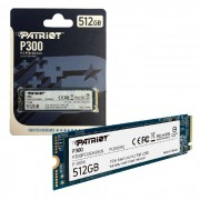 HD SSD M.2 2280 Patriot P300 512GB PCIe Gen3x4 NVMe 1.3 1700 MB/s, 1100 MB/s - P300P512GM28US