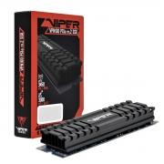HD SSD M.2 2280 Patriot Viper VPN100 256GB PCIe Gen3x4 NVMe 1.3 Leitura 3000 MB/s, Grav. 1000 MB/s