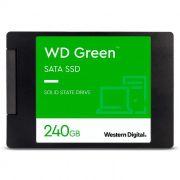 HD SSD Western Digital 240GB WDS240G2G0A Leitura 545MB/s, Gravação 465MB/s
