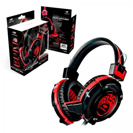 Headset Gamer C3Tech Flycatcher PH-G10BK, C/Microfone, P2 3.5 mm