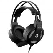 Headset Gamer HP H100 Stereo 2 P2 3.5mm Driver 50mm Preto